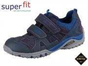 superfit Sport4 3-09225-80 blau Velour-Tecno-Textil
