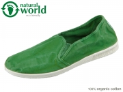 natural world Camping 605E-639 verde jara Baumwolle
