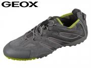 Geox Uomo Snake J U4207J02214C1267 dk grey lime Scam Mesh DK