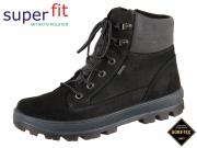SuperFit Tedd 8-00473-03 schwarz grau Velour Textil