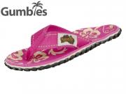 Gumbies GUMBIES Australian Shoes 2202 pink hibiscus