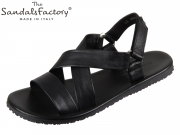 The sandals factory M6527 nero Vitello