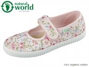 natural world W56025-03 rosa organic cotton