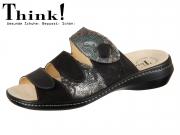 Think! CAMILLA 83426-09 Schwarz Kombi Material Mix