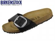 Birkenstock Madrid Big Buckle 1015315 gracefull licorice Birkoflor
