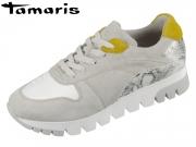 Tamaris 1-23779-32-248 grey combi Materialmix Leder Synthetik