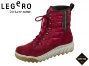 legero TIRANO 5-00956-49 rio red Velour Textil