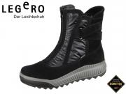 Legero TIRANO 5-00955-00 schwarz Velour