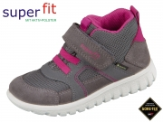 SuperFit SPORT 7 mini 5-09198-21 grau rosa Velour Tecno