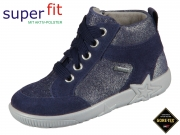 SuperFit STARLIGHT 5-09444-80 blau Velour Effektleder