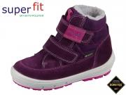 superfit GROOVY 5-09314-90 lila rosa Velour Textil