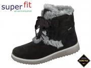 superfit LORA 5-09480-00 schwarz Velour Textil