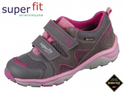 superfit Sport5 5-09240-21 grau rosa Velour Tecno