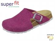 superfit Fußbettpantoffel 5-09115-55 rosa Wollfilz