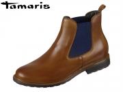 Tamaris 1-25056-23-481 nut-blue Leder