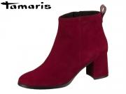 Tamaris 1-25067-23-537 merlot Leder