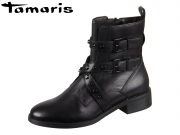 Tamaris 1-25415-23-052 black studs Mix Leder Synthetik