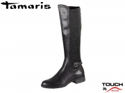 Tamaris 1-25511-23-001 black Mix Leder Synthetik