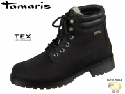 Tamaris 1-26244-23-007 black Mix Leder Synthetik