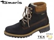 Tamaris 1-26244-23-064 black cognac Leder