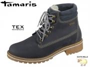 Tamaris 1-26244-23-805 navy Leder