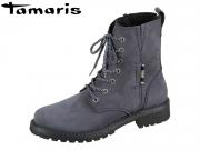 Tamaris 1-26267-23-805 navy Leder