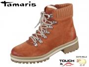 Tamaris 1-26296-23-444 rust Mix Leder Textil