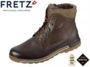 Fretz Men Cooper 1348.6971-59 mokka Fettnubuk Gore Tex