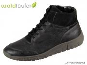 Waldläufer Hanson 924802 250 001 schwarz Hirschleder Utah