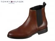 Tommy Hilfiger Pin Logo Chelsea Boot EN00606-GVI winter cognac