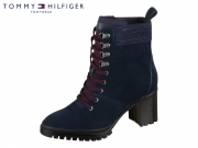 Tommy Hilfiger Sporty Outdoor Mid Heel Lace U FW0FW04341-CKI midnight