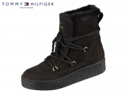 Tommy Hilfiger Cosy Bootie FW0FW04401-990 black