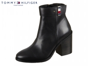 Tommy Hilfiger Corporate Hardware Bootie FW0FW04488-BDS black