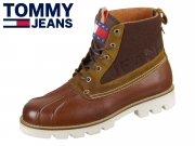 Tommy Hilfiger Tommy Jeans Light Duckboot EM0EM00308-906 winter cognac