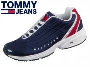 Tommy Hilfiger Heritage Tommy Jeans Sneaker EM0EM00318-0K6 RWB