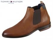 Tommy Hilfiger Signature Hilfiger Chelsea FM0FM002421-606 cognac Leather