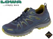 Lowa Innox Evo GTX Lo 310611 9785 stahlbla senf