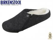 Birkenstock Zermatt Shearling 1015090 anthracite Doubleface