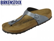 Birkenstock Gizeh 1014288 iocy metallic anthracite BF