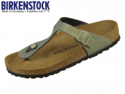 Birkenstock Gizeh 1014286 icy metallic stone gold BF