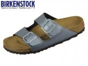 Birkenstock Arizona 1014285 icy metallic anthracite BF