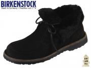 Birkenstock Bakki 1015400 schwarz Nubuk Lammfellfutter Hydrophobic