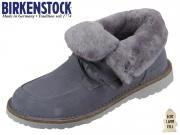 Birkenstock Bakki 1015403 graphite Nubuk Lammfellfutter Hydrophobic