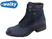 Wolky Center Liverpool 0262545-800 blue Suede