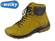 Wolky Ambient 0302611-940 mustard Nubuck