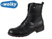 Wolky Murray 0443220000 black Velvet Leather