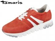 Tamaris 1-23749-22-621 sunset Materialmix Leder Synthetik