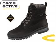 camel active Move GTX 905.70-13 black Nubuk Oil