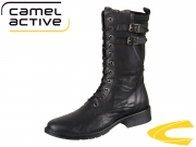 camel active Bright 892.74-01 black Antique Goat Stretch