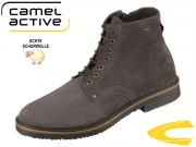 camel active Trade 524.12-14 dark grey Oil Suede